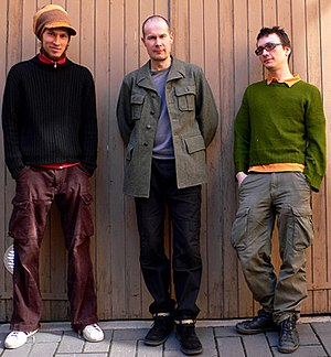 RinneRadio - RinneRadio are (from left) Juuso Hannukainen, Tapani Rinne and Verneri Lumi