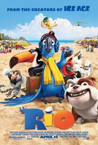 Rio (2011 film) - Theatrical release poster