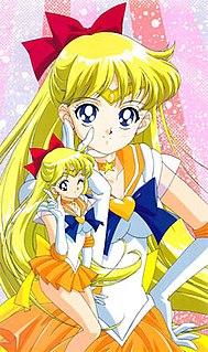 Sailor Venus fictional character in Sailor Moon