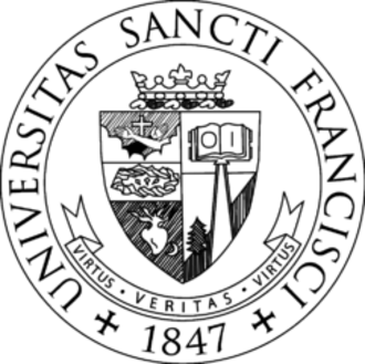 Saint Francis University - Image: Saint Francis University seal