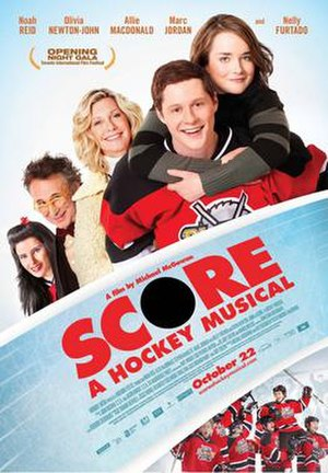 Score: A Hockey Musical - Theatrical film poster