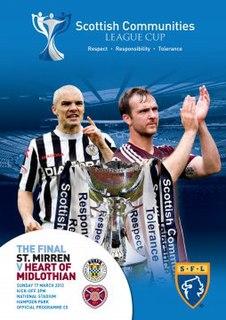 2013 Scottish League Cup Final Football match
