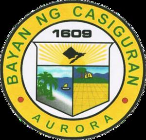 Casiguran, Aurora - Image: Seal of Casiguran Aurora