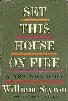 My house is on fire book