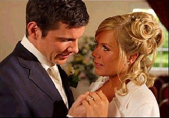 Sharon Watts - Dennis and Sharon marry