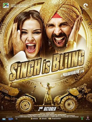 Singh Is Bliing - Theatrical release poster