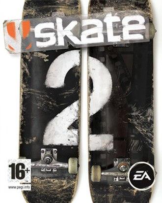 Skate 2 - Image: Skate 2 Cover