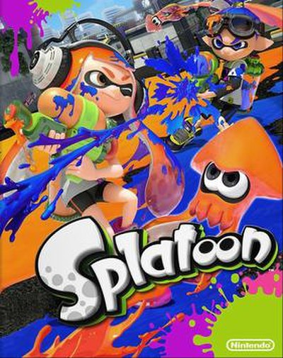 Picture of a game: Splatoon
