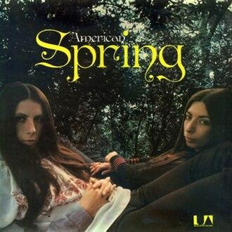 Spring (American Spring album) - Image: Spring album cover