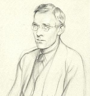 Stanley Morison - Morison drawn by Sir William Rothenstein in 1923.