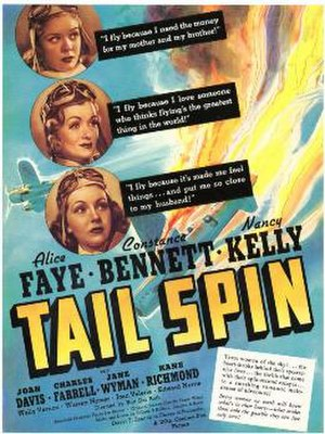 Tail Spin - Theatrical film poster