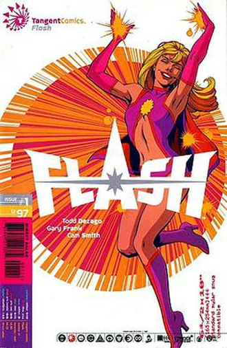 Flash (comics) - Lia Nelson, the Tangent reality's Flash
