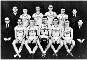 """1936–37 Illinois Fighting Illini men's basketball team - """"1936-37 Fighting Illini men's basketball team"""""""