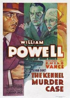 <i>The Kennel Murder Case</i> (film) 1933 film by Michael Curtiz