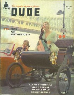 The Dude (magazine) - May, 1959 issue of The Dude (volume 3, Number 5)