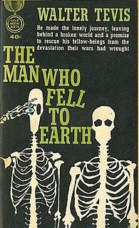 <i>The Man Who Fell to Earth</i> (novel) 1963 Novel by Walter Tevis