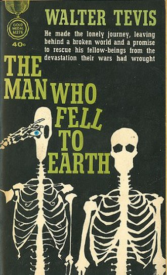 The Man Who Fell to Earth (novel) - First edition (publ. Gold Medal Books)