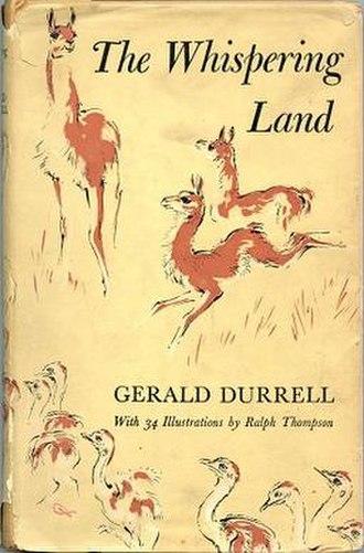The Whispering Land - First edition (publ. Rupert Hart-Davis)