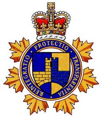 Parole Board of Canada - Image: The Heraldic Badge of the Parole Board of Canada
