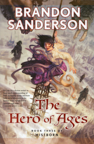 Mistborn: The Hero of Ages - First edition cover