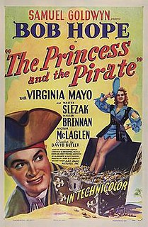 <i>The Princess and the Pirate</i> 1944 film by Samuel Goldwyn, Allen Boretz, Sidney Lanfield, David Butler