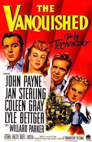 The Vanquished - Theatrical release poster