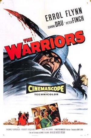 """The Dark Avenger - United States """"The Warriors"""" film poster"""