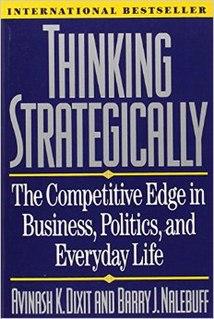 <i>Thinking Strategically</i> book by Avinash Dixit