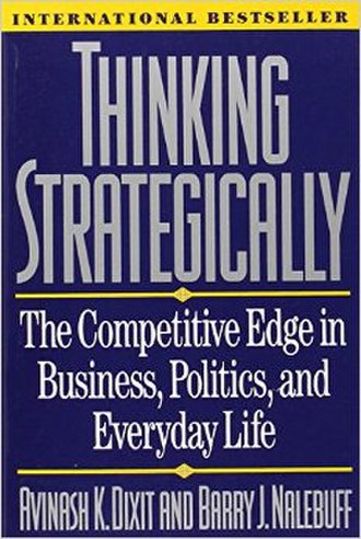 Thinking Strategically - Image: Thinking Strategically bookcover
