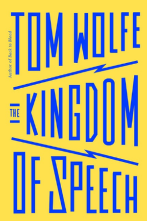 The Kingdom of Speech - Cover of the first edition