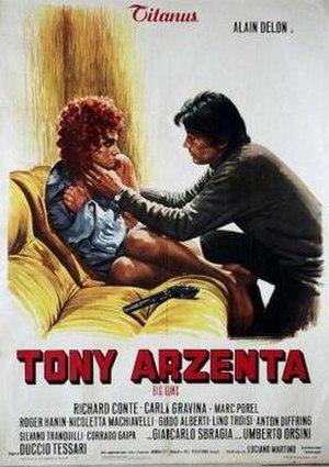 Tony Arzenta - Italian film poster for Tony Arzenta