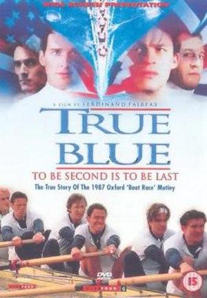 True Blue (1996 film) - Image: True Blue Cover