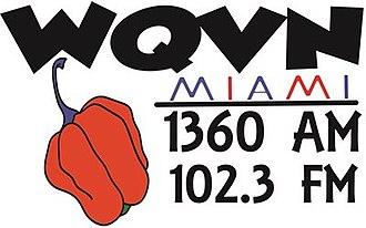 WQVN - Image: WQVN 1360 102.3 logo