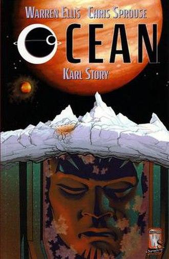 Ocean (comics) - Cover of Ocean trade paperback.