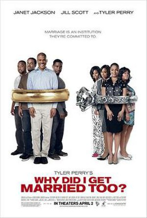 Why Did I Get Married Too? - Theatrical release poster