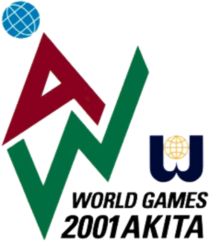 2001 World Games - Image: World Games 2001