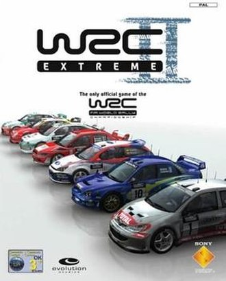 WRC II Extreme - European edition cover