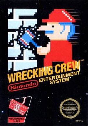 Wrecking Crew (video game) - Image: Wrecking Crew cover