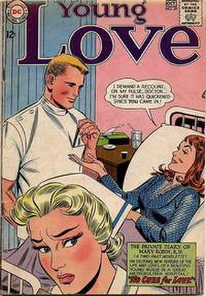Young Love (comics) - Image: Young Love Issue 39 (DC)