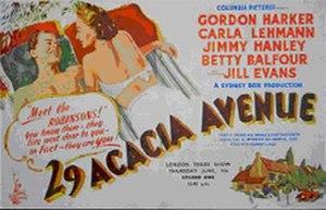 """29 Acacia Avenue - Image: """"29 Acacia Avenue"""" (1945)"""