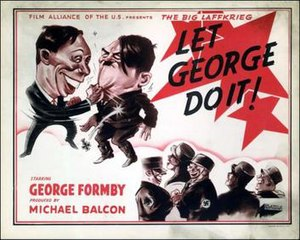 Let George Do It! - US cinema poster