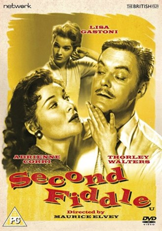 Second Fiddle (1957 film) - DVD cover