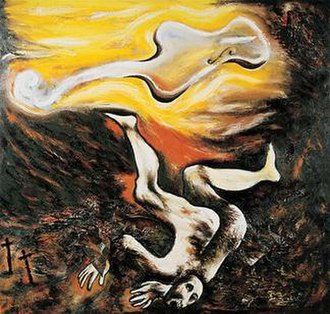 Enzo Cucchi - Musica Ebbra, 1982, private collection