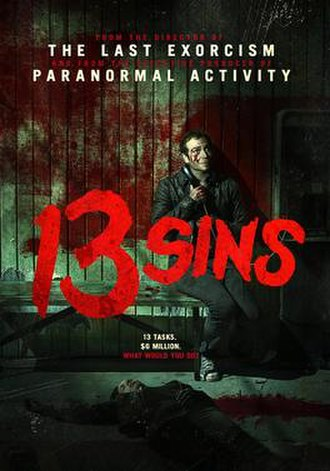 13 Sins - Theatrical poster