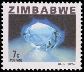 Postage stamps and postal history of Zimbabwe - A 1980 stamp of Zimbabwe.