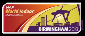 2018 IAAF World Indoor Championships - Image: 2018 IAAF World Indoor Championships logo