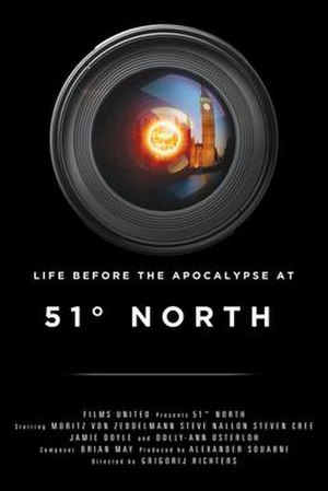 51 Degrees North - Theatrical release poster