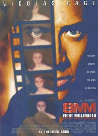 8mm (film) - Original theatrical release poster
