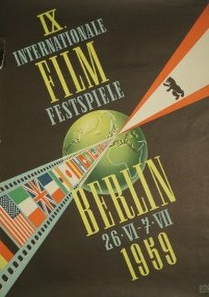 9th Berlin International Film Festival - Festival poster