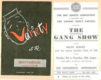 9th World Scout Jamboree - 9th Jamboree Gang Show programme cover